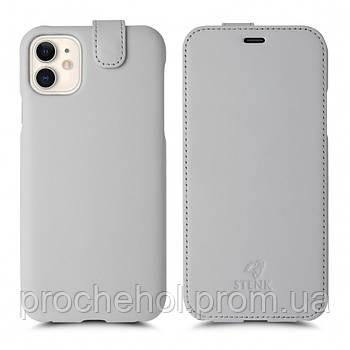Чехол флип Stenk Premium для Apple iPhone 11 Белый