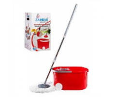 Комплект для миття підлоги Zambak Plastik Mop (відро + швабра) 250 ZP