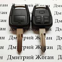 Корпус ключа для Opel Omega (Опель Омега),3 кнопки с лезвием HU46P