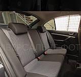 Авточохли для Kia Carens з 2006-2012 р. в. (7 місць) Чохли на сидіння Кіа Каренс з 2006-2012 р. в. EMC Elegant, фото 2