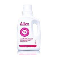 Лучшее жидкое концентрированное средство для стирки белья Alive Аливе. Бесфосфатное Безопасная ручная машинная