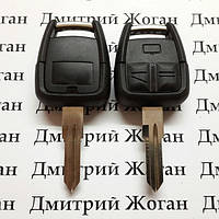 Корпус ключа для Opel Omega (Опель Омега),3 кнопки с лезвием YM28