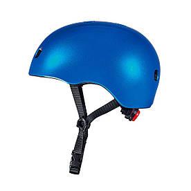Защитный шлем MICRO - ТЕМНО-СИНИЙ МЕТАЛЛИК (48–53 cm, S)
