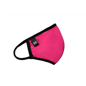 Маска Sammy Icon Black pink mask ярко-розовая с черным кантом