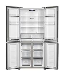 Двокамерний холодильник Concept LA8783bc Quattro чорний
