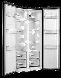 Холодильник с морозильной камерой CONCEPT LA7383bc