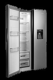 Холодильник з морозильною камерою CONCEPT LA3883ss SIDE BY SIDE