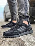 Кросівки чоловічі 18164, Adidas ZX 750, чорні, [ 41 42 43 44 45 46 ] р. 43-28,0 див., фото 2