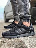 Кросівки чоловічі 18164, Adidas ZX 750, чорні, [ 41 42 43 44 45 46 ] р. 43-28,0 див., фото 3
