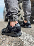 Кросівки чоловічі 18164, Adidas ZX 750, чорні, [ 41 42 43 44 45 46 ] р. 43-28,0 див., фото 4