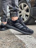 Кросівки чоловічі 18164, Adidas ZX 750, чорні, [ 41 42 43 44 45 46 ] р. 43-28,0 див., фото 6