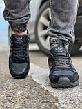 Кросівки чоловічі 18164, Adidas ZX 750, чорні, [ 41 42 43 44 45 46 ] р. 43-28,0 див., фото 7