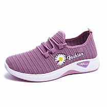 Стильні жіночі кросівки з Ромашкою, 36 - 40, фото 2