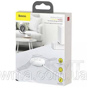 Baseus (WXYYQIW03) Yo Yo Wireless Charger For Apple Watch — White