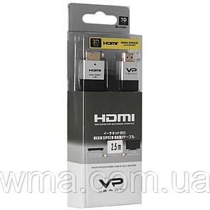 Кабель Veron HDMI (2.5m) — Black