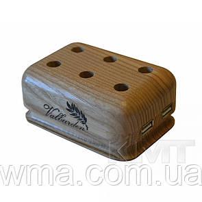 Деревянный органанайзер + USB hub 4 порта 2,0
