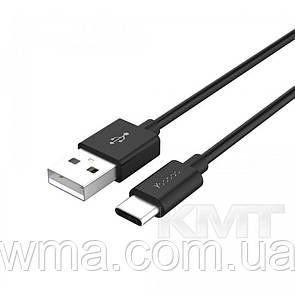 Переходник (Адаптер) Yoobao YBCC2-1 Type To Type C Cable  (1m) Black