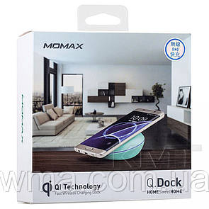 Momax (UD2B) Q.Dock Android Support Qi Wireless Charger Blue — Blue