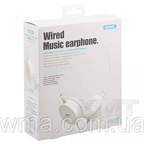 Remax RM-910 Hands Free With Mic — White
