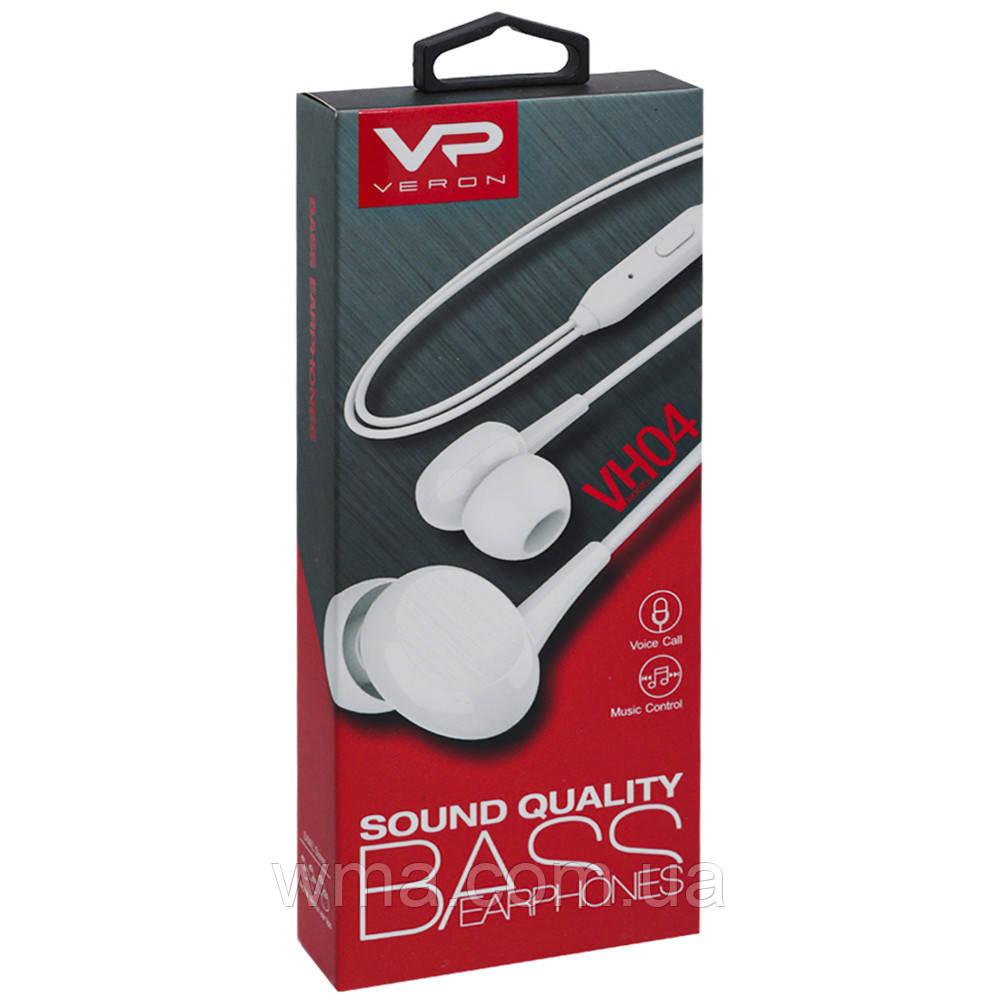 Veron (VH04) Earphones — White