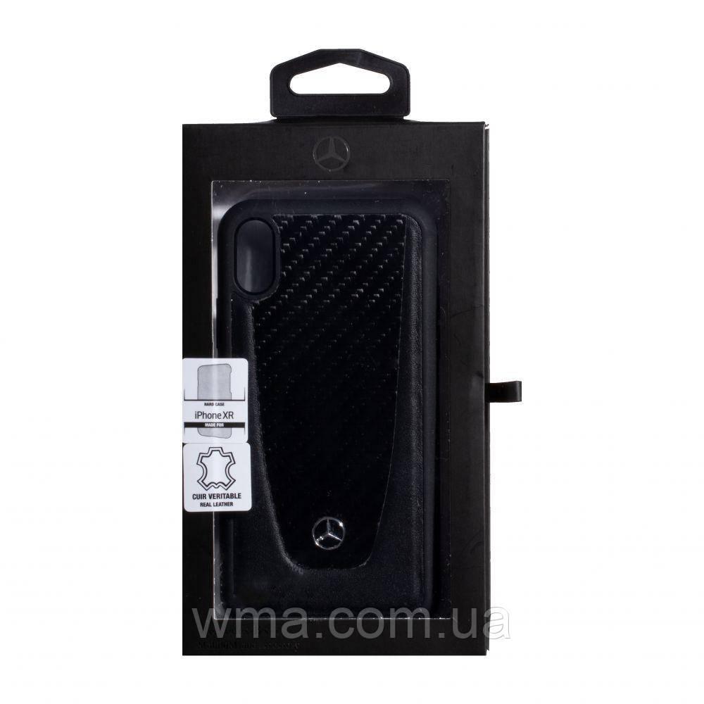 Чехол Mercedes-Benz Carbon for Apple Iphone Xr Цвет Чёрный