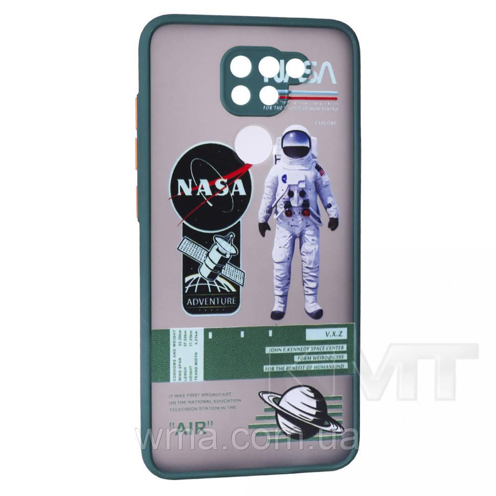 Stickers Series TPU Case — Xiaomi Redmi Note 9 — Khaki