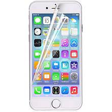 "Протиударна Захисна Плівка SKLO 2.5 D Nano (full glue) для Apple iPhone 6/6s (4.7"") Ультратонка /"