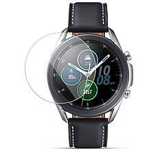 Протиударна Захисна Плівка Epik 3D (full glue) для Galaxy Watch 3 45mm Полімерна / Ультратонка /