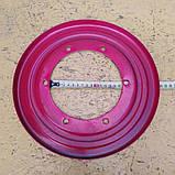 Кожух защитный цилиндра ротора косилки Z-169 (крышка 6 отв.) 8245-036-010-365, фото 2