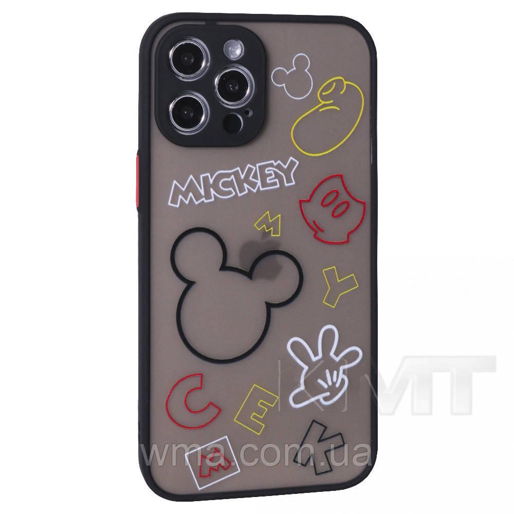 Stickers Series TPU Case — iPhone 11 Pro — Black