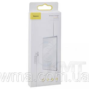 Baseus (WX01B- S2/WX01B-01) Card Ultra-thin Wireless Charger 15W  — White