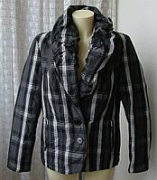 Куртка женская демисезонная утепленная бренд Cassani р.48 4656