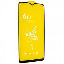 Захисне скло Glass 6D Premium Samsung A207 Galaxy A20S 2019 Чорний (107314)
