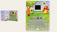 Детский обучающий планшет Play Smart, 30 функций, 17 игр, русско-английский арт.7482