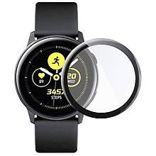 Протиударна захисна 3D плівка Epik Full Glue NEW для Samsung Galaxy Watch Active 2 40mm Прозорий /