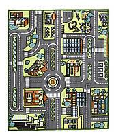 """Детский ковер """"Карта города"""" 100x120 см"""