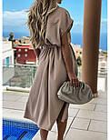 Жіноче плаття літнє на кнопках (Норма, Батал), фото 3