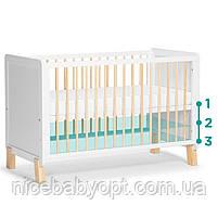 Детская кроватка Kinderkraft Nico White, фото 4