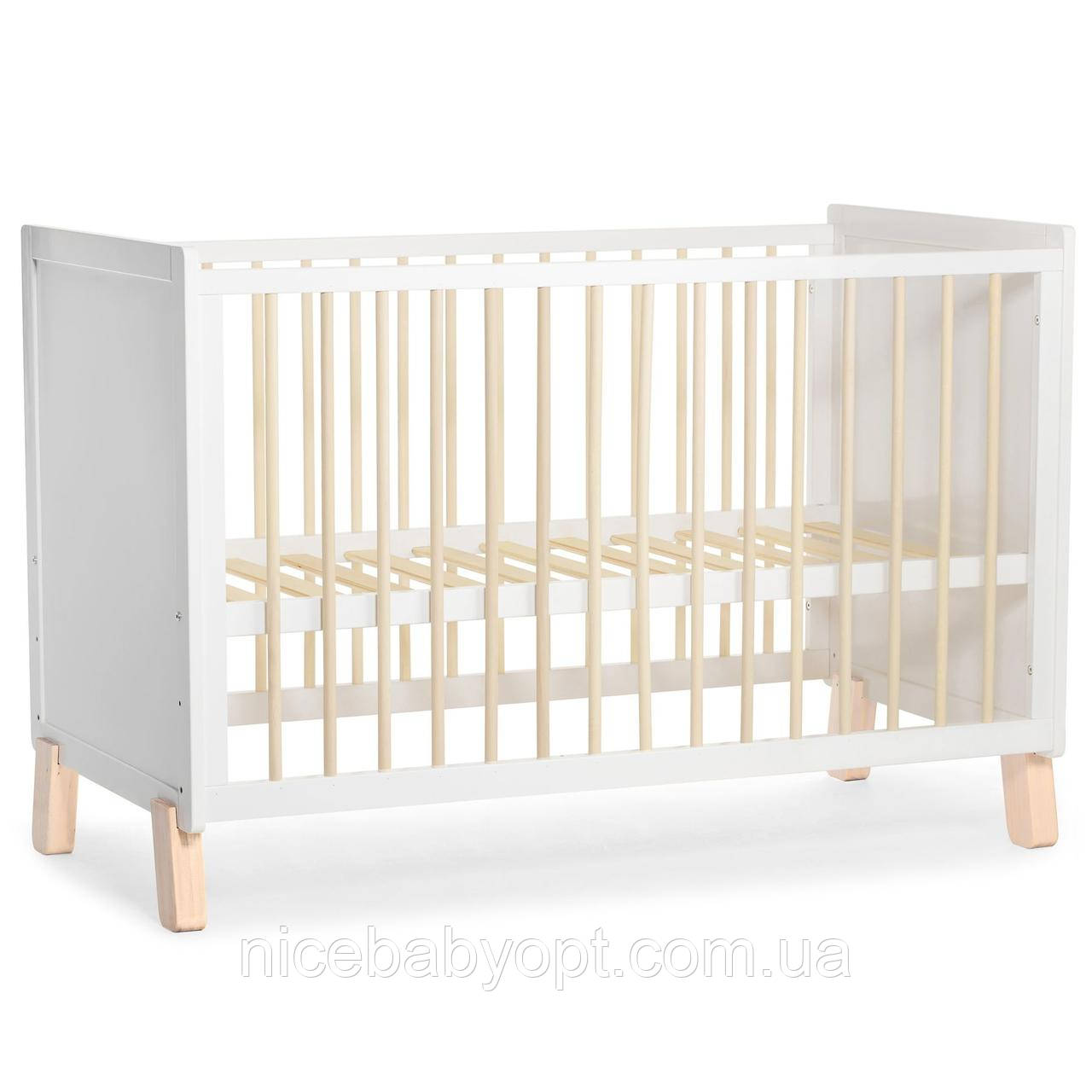 Детская кроватка Kinderkraft Nico White