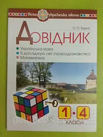 1- 4 класи Посібники / словнички / довіднички для учнів початкової школи