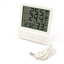 Термометр с гигрометром cx301A, с выносным датчиком