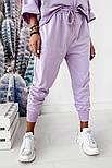 Женский спортивный костюм свободного кроя с капюшоном, фото 7