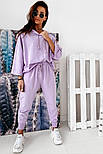 Женский спортивный костюм свободного кроя с капюшоном, фото 6