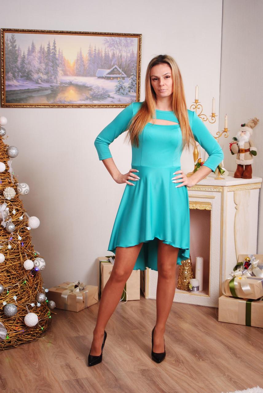 Платье женское мята
