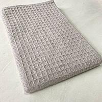 Кухонний рушник піке бавовна сірий 42х57 см, фото 1