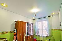 Натяжной потолок Детская 20 м.кв. Белый глянец