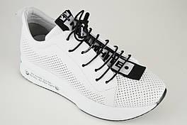 Кросівки білі Ripka 014605 38 перфоровані шкіра