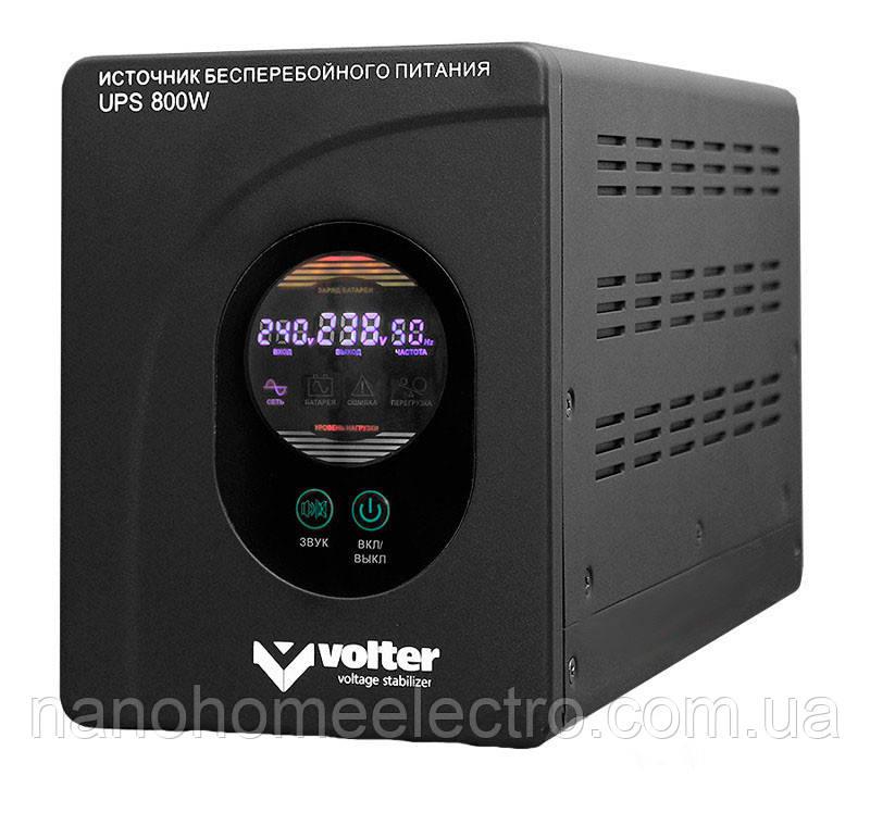 Иcточник бесперебойного питания Volter UPS 800(0.48кВТ)