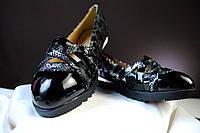 Удобные женские туфли без каблука