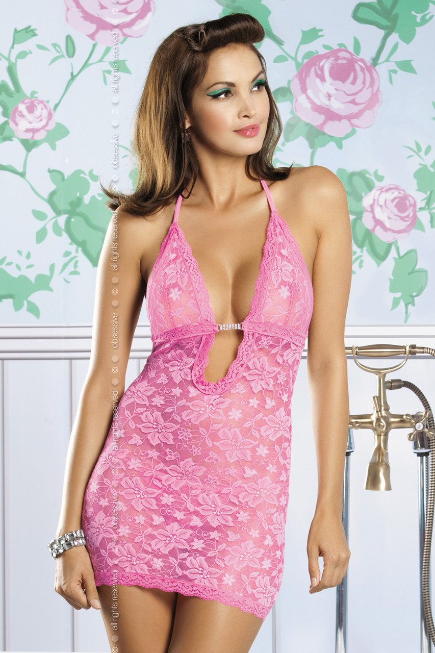 0b80bb449ffde64 Кружевная сорочка розового цвета очень хорошего качества в Хмельницком.